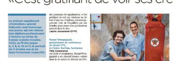 Tribune de Genève - Article sur la formation